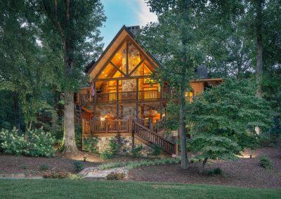 Log Homes and Energy Efficiency.